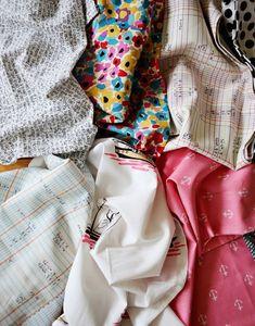 Mismatched Cloth Napkins