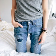 jeans and a tee, forever