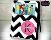 Custom Frame, Personalized Frame, Monogrammed Frame, Customize with your choice of colors and font!