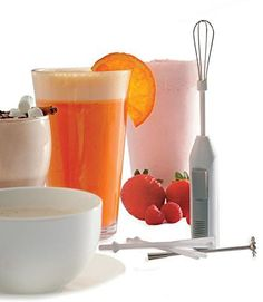 Deluxe Battery Powered Cordless Mini Hand Mixer, Blender, Whipper, Frother. NEW by Norpro