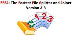 Fastest File Splitter and Joiner – Phần mềm ghép nối file đơn giản