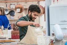 Great British Bake contestant Tamal Ray, has received a deluge of tweets from fans who are dubbing him this year's eye candy
