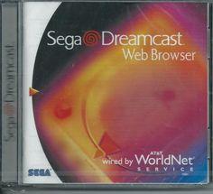 SEGA Dreamcast Web Browser (Sega Dreamcast, for sale online Sega Dreamcast, Some Games, 90s Aesthetic, Wii U, Web Browser, Console, Video Games, Nintendo, Nerd