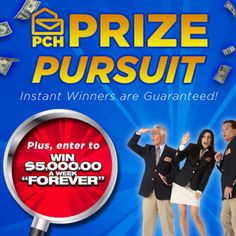 Play Prize Pursuit on the PCH Fan Page on Facebook! i am over here