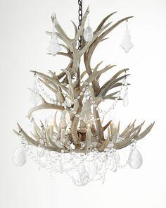 Stag Eight-Light Chandelier - Ralph Lauren