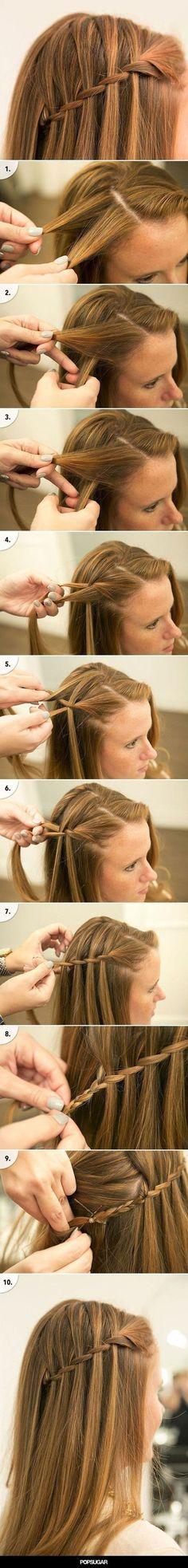 Fresh Easy to Frisuren für die Schule zu tun - Frisur -