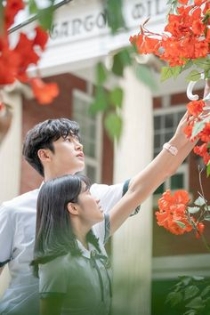 haru y dan oh Korean Drama Romance, Korean Drama Stars, Korean Drama Movies, Kpop Couples, Cute Couples, Korean Celebrities, Korean Actors, Drama Funny, Couple