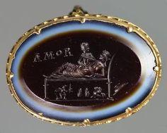 Ring: Venus and Mars     Roman, Middle Empire    Second Century AD
