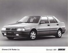 Fiat Croma 2.0 Turbo i.e. (January 1991)