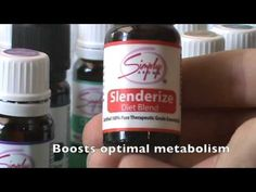 Simply Featured: Slenderize  Use Simply Aroma's Slenderize as a weight loss tool. Check out the video for more info.! www.simplyaroma.com/carriejohnson #simplyaroma #essentialoils