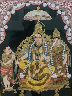 Yashoda Krishna, Krishna Hindu, Mysore Painting, Madhubani Painting, Traditional Paintings, Traditional Art, Temple India, Indian Folk Art, Ganesha