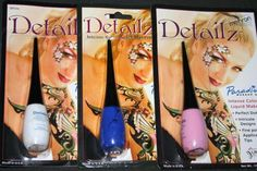 Detailz Makeup eyeliner lines dots face body paint theatrical clown color detail. Compare at $9.99 with FREE standard U.S. shipping. Makeup for fine lines, dots & spots in a convenient built in applicator bottle. Let your imagination soar with our Detailz liquid face and body makeup. Specifically created for detail work, the perfect choice for intricate designs and outlines. Fine lines, perfectly round dots and tiny spots will flow from your brush.