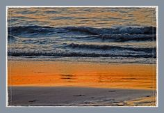 Mindl Beach at Sunset by Marylou Badeaux, via Flickr