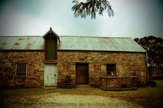 Rustic Old Barn Goulburn New South Wales Australia Lomo by BeadsMe, $23.00