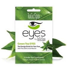 EYES by ToGoSpa Collagen Under Eye Masks in Green Tea EYES, 3 for $12