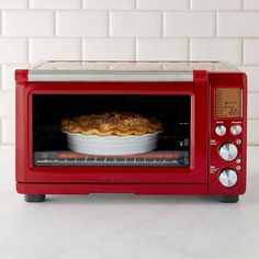 Breville Smart Convection Oven Plus, Cranberry Red