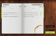 do it tomorrow para administrar las tareas de hoy y mañana con un diseño interesante