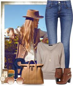 """Basic Denim"" by rachel on Polyvore"
