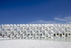 Casalgrande Ceramic Cloud © by Marco Introini by Kengo Kuma and Associates