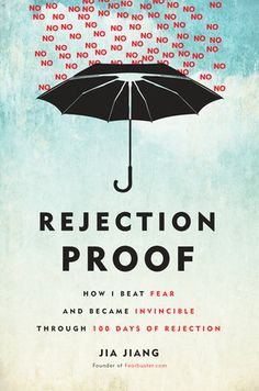 The NOOK Book (eBook) of the Rejection Proof: How I Beat Fear and Became Invincible Through 100 Days of Rejection by Jia Jiang at Barnes & Noble. Reading Lists, Book Lists, Reading Room, Books To Read, My Books, Psychology Books, Sport Psychology, Psychology Major, Self Help