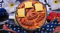 BBQ cake by Whole Foods Market, El Segundo, via Flickr