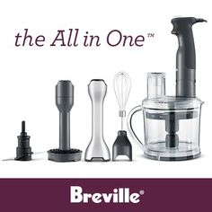 Breville All in One GIVEAWAY! If you mention 'lbads' sent you, you get an extra entry!!!