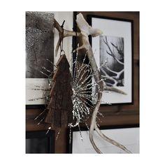 ~ kontraster // #silverstar #woodentree #blackandwhite #antler