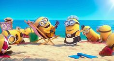 Minions on the beach | Despicable Me 2: Minions on The Beach. (Image credit: Illumination ...