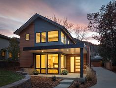 Value Driven Modern Home - modern - exterior - denver - HMH Architecture + Interiors