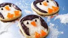 Silly Penguin Cookies
