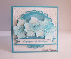 STAMPIN' UP! Embrace Life/On Your Birthday SPELLBINDERS Decorative Elements Nestabilities Lacey Circles