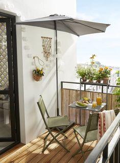 Salons et meubles de balcon: notre shopping malin - Marie Claire Parasol, Patio, Outdoor Decor, Salons, Room, Place, Home Decor, Decoration, Collection
