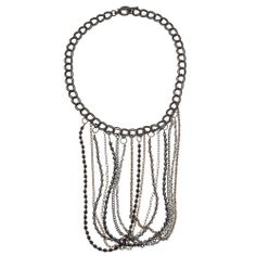 Looped Fringe Statement Necklace | Beadaholique - matching earrings?