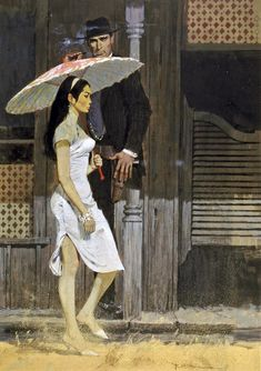 ROBERT MCGINNIS (American, b. The Silver Concubine, paperback cover, 1962 Gouache on board x 12 in. - Available at 2014 May 7 Illustration Art. Robert Mcginnis, Book Cover Art, Book Art, Art Pulp, Pulp Fiction Book, Vintage Book Covers, The Villain, American Artists, Vintage Art