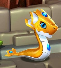 Baby radiant dragon