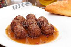 Meatballs with sauce - Hackbällchen mit Sauce