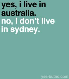 "I live in Nashville, USA now - but I get asked this a lot - ""Do you come from Sydney?"" - to which I politely reply ""No, Melbourne! Australia Funny, Australia Day, Australia Living, Melbourne Australia, Australian Memes, Aussie Memes, Adelaide South Australia, Western Australia, Adele"