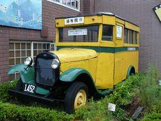 昭和初期のボンネットバス