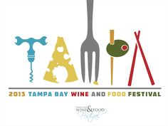 Tampa Food and Wine Festival Poster Design