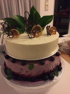 Blueberry-Lemon Cake Blueberry, Lemon, Cake, Desserts, Food, Homemade, Pies, Pie Cake, Meal