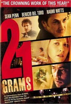 21 gramos (2003) EEUU. Dir: Alejandro González Iñárritu. Drama - DVD CINE 113