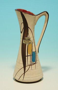 """Bay Keramik Vase WEST GERMANY 1960"""