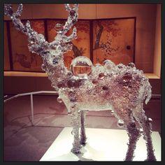 Asians deer art at The Met