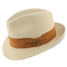Platypus Dobbs Bone White Wool Felt Fedora Hat Mens Straw Hats, Straw Fedora, Hats For Men, Hat Men, Fedora Hats, Dobbs Hats, Boho Hat, Kentucky Derby Hats, Fedoras