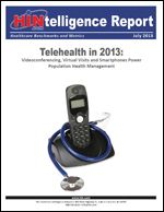 Healthcare is leaning on videoconferencing more than ever to monitor discharged patients, conduct remote consultations and facilitate communication, according to responses to the Telehealth in 2013 Survey by the Healthcare Intelligence Network. Respondents reported videoconferencing as the number one technology being utilized, an increase from 41 percent in 2010 to 59 percent in 2013.