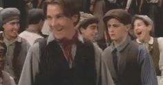 Lindsay aka Nostalgia Chick examines Disney's most well-known musical about the horrors of child labor at the turn of the century - NEWSIES! #newsies #90s #disney #christianbale #nostalgiachick
