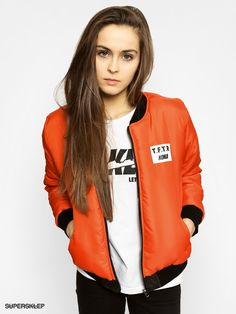 Kurtka Koka Tftr Bomber Reversible Wmn (black/orange)
