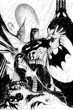 Batman by Frank Cho & Jim Lee