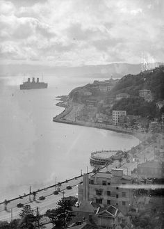 Oriental Bay, Wellington, late 1930s | National Library NZ via Flickr