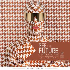 Your future is bright. Face it in style. CAPITOL COUTURE Eyewear… See The Future. View the exquisite new ad & read more about the fashion of the Quarter Quell, only at #CapitolCouture: http://capitolcouture.pn/post/58072859903/quarter-quell-calls-for-high-fashion-its-time-to